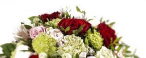 Blomster, kranse og buketter til begravelse
